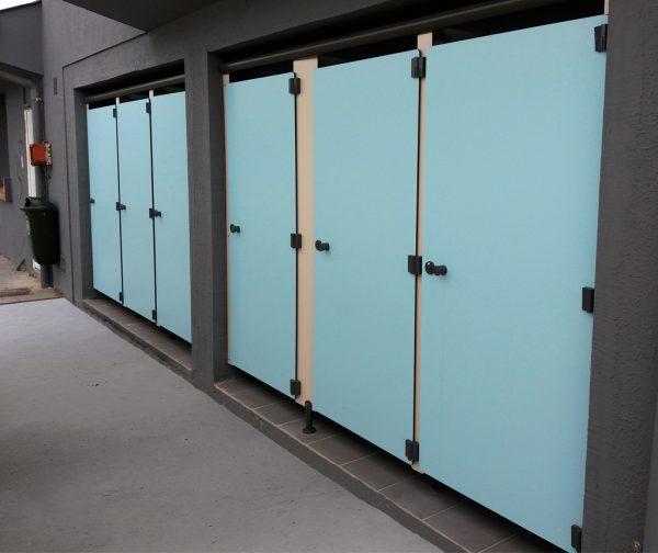 Façade cabine sanitaire Réno Kalysse