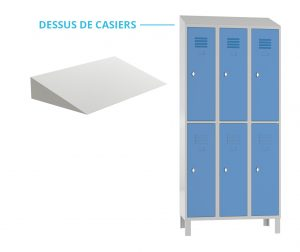 Armoires casiers métal kalysse