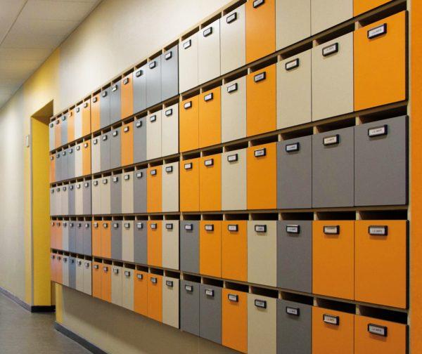 casiers boîte aux lettres