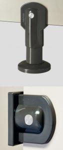 écrans de cuvettes WC et d'urinoirs pour enfants kalysse - quincaillerie