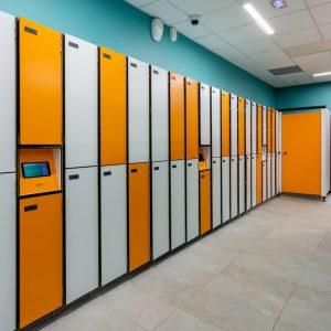 fermeture par gestion informatisée pour casiers compact kalysse