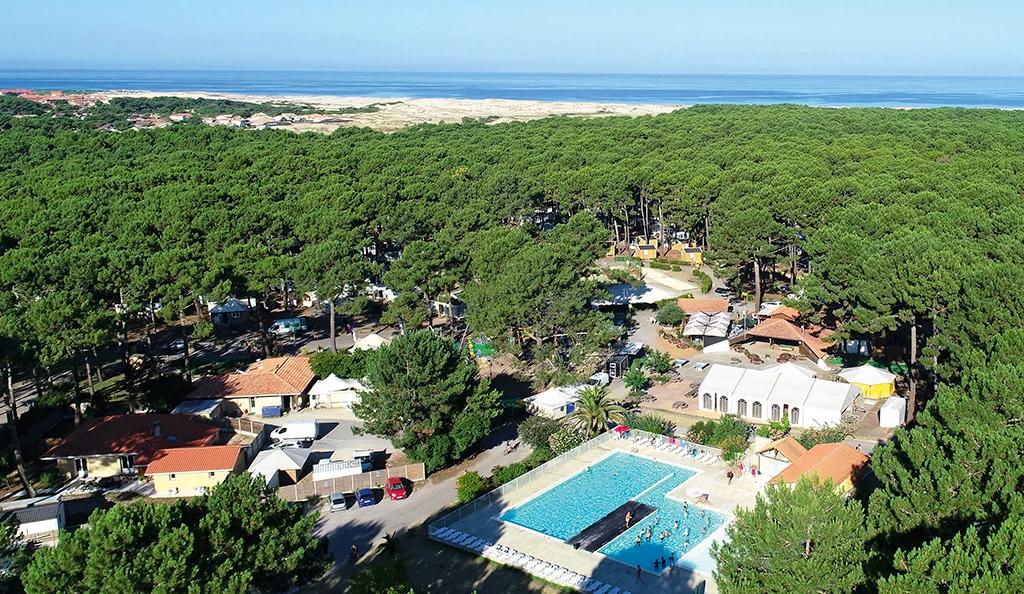 Projet équipements sanitaires camping et hôtellerie de plein air : Camping Le Vivier - Biscarosse